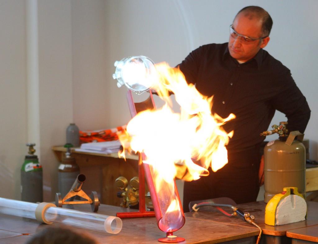 Propan-Flamme