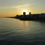 Abendstimmung über Brighton
