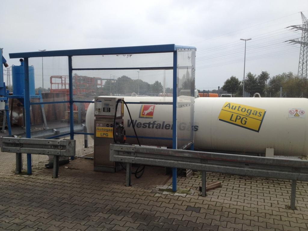Füllanlage für Treibgasstapler