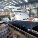 Quantum of the Seas (Copyright: MEYER WERFT)
