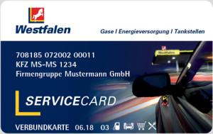 WestfalenServiceCard