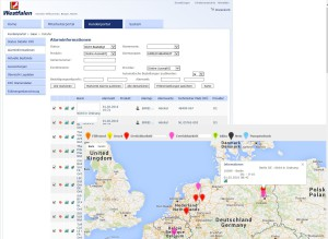 Google Maps und SAP Integration in INTREXX