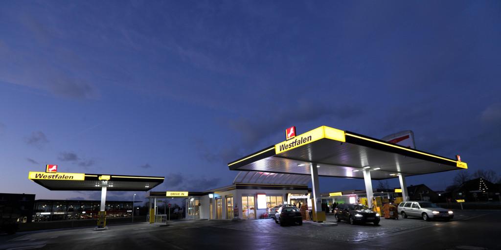 Westfalen-Tankstelle