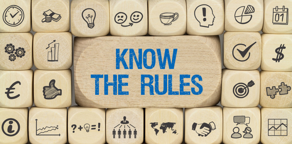 Know the Rules / Wrfel mit Symbole
