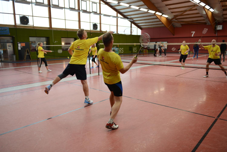 badmintonspiel
