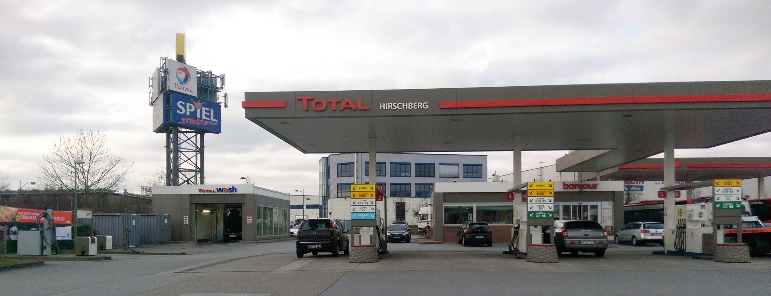 Tankstelle in Hirschberg