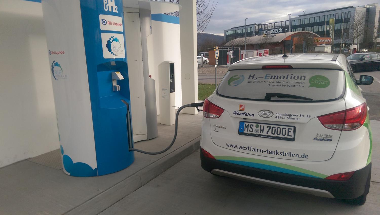 Wasserstoffstation in Hirschberg
